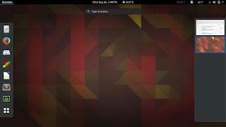Ubuntu Gnome 16.04 Screenshot