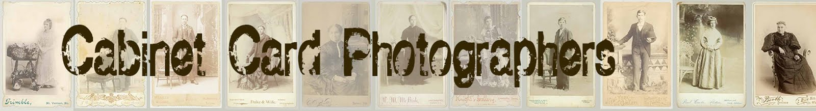 Cabinet Card Photographers