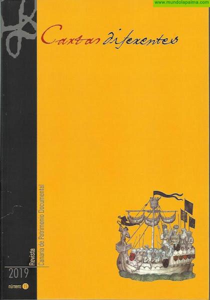 Publican un nuevo volumen de la revista sobre patrimonio documental 'Cartas Diferentes'