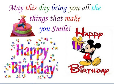Happy Birthday Keep Smiling Quotes