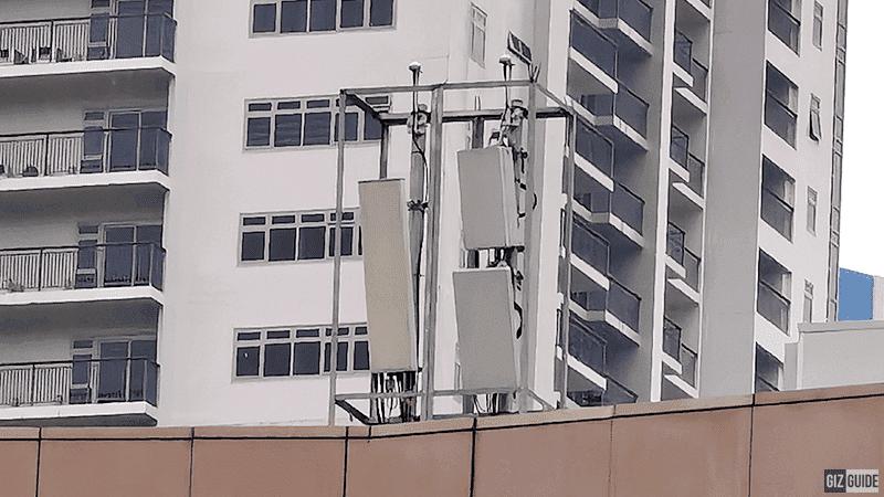 5G antenna photo in BGC