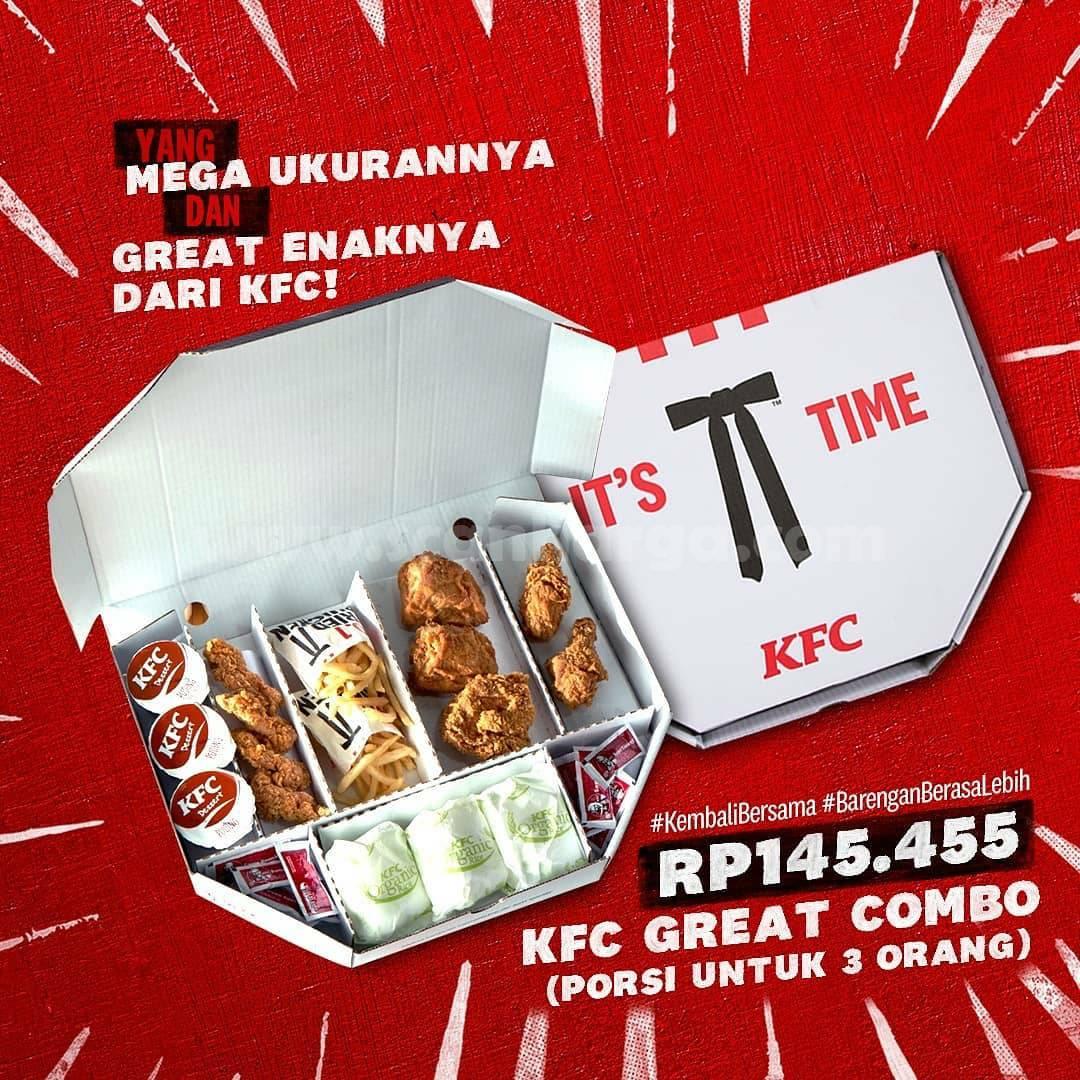 Baru! Paket KFC Mega Combo & Great Combo harga mulai Rp 145.455 2