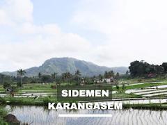 Ngebolang santai ke tempat ramai villa, Desa Sidemen, Karangasem, Bali