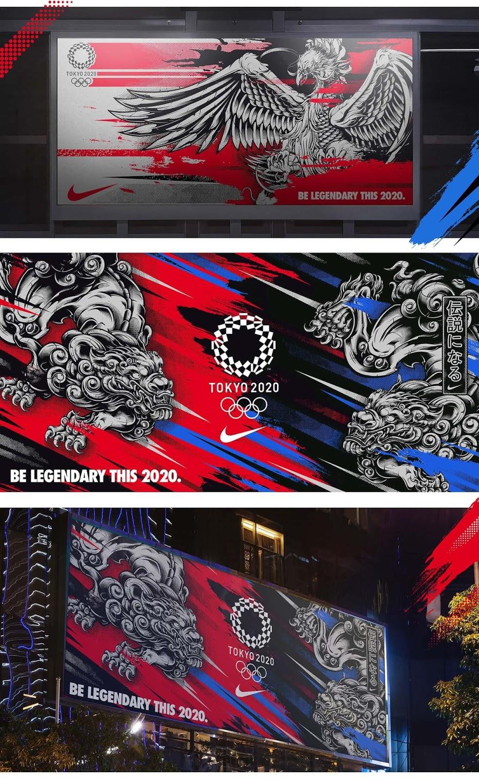 Be-Legendary-fuerte-concepto-de-branding-Nike-juegos-olimpicos-Tokyo-2020