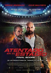 Atentado en el estadio | Final Score (2018) Online latino hd