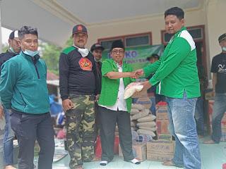 PAC Ansor Mayang Peduli Korban Banjir