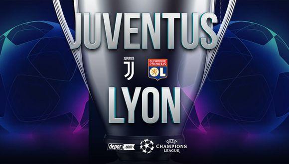 Juventus vs. Lyon EN VIVO: cómo y cuándo ver partido por la vuelta de los octavos de Champions con Cristiano