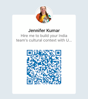 QR Code to Connect on LinkedIn - Jennifer Kumar