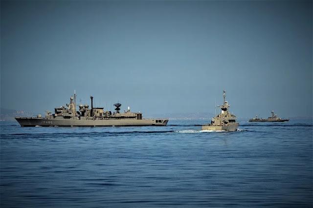 Κίνηση μπλοκαρίσματος της Τουρκίας από το Πολεμικό Ναυτικό