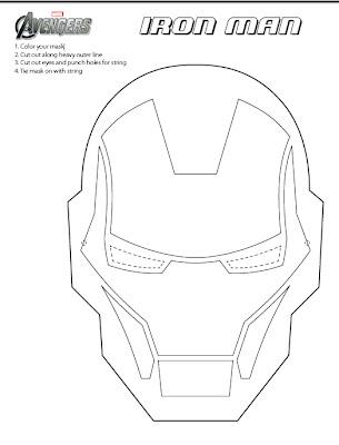 Hulk Mask Printable Black And White