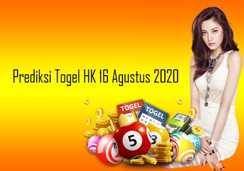 Bocoran Togel HK 16 Agustus 2020