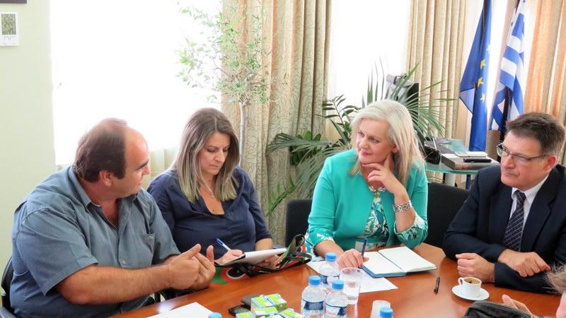 Συνάντηση μελών της ΟΕΒΕΣΕ με τον Αντιπεριφερειάρχη Έβρου
