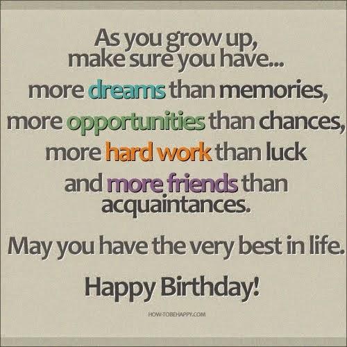 Happy Birthday 16 Quotes: Happy 16 Birthday Quotes