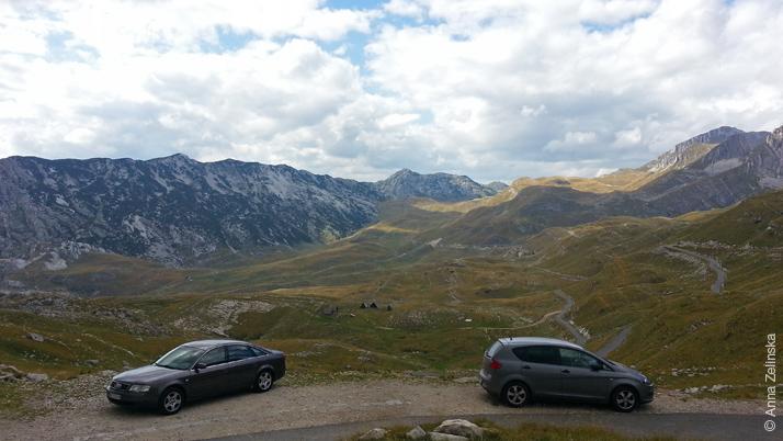 Вид на парк Дурмитор с высоты, Черногория