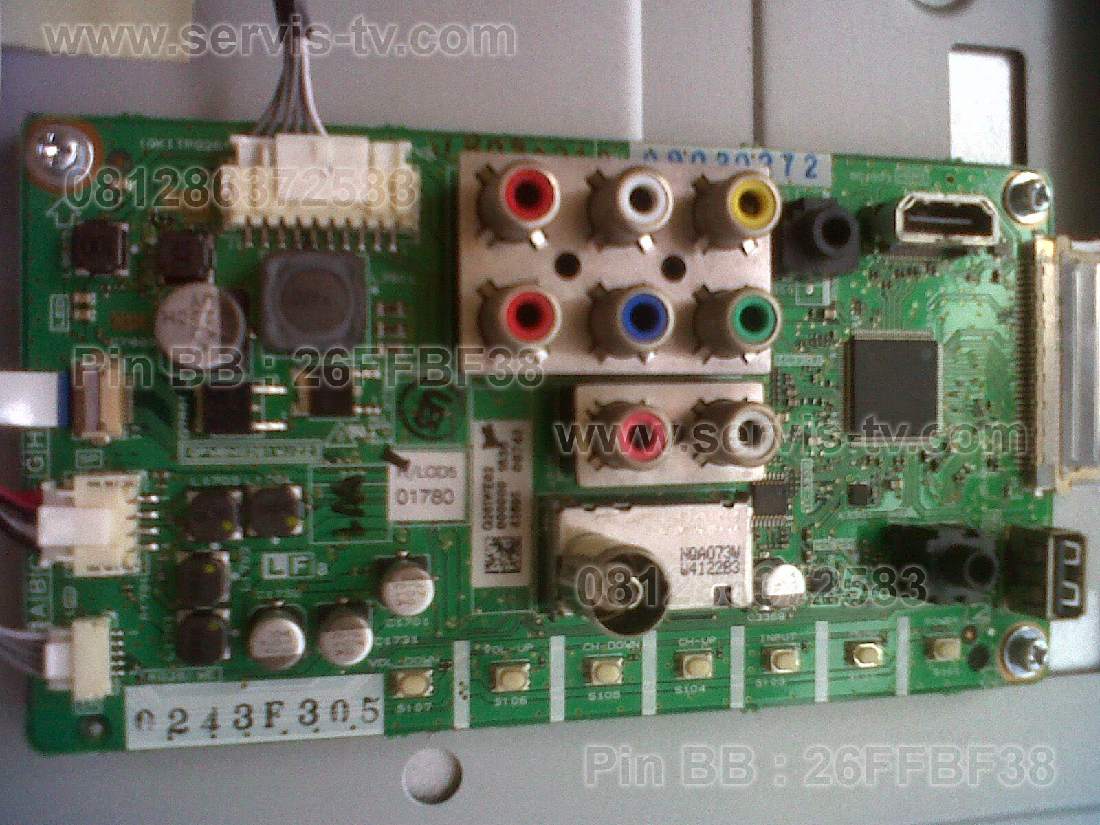 Mainboard Sharp LC 24LE155M