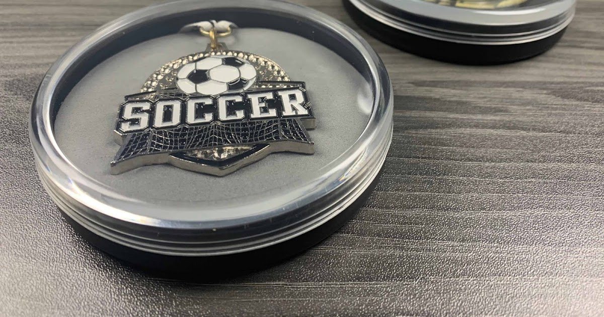 Top 3 Sealer of Soccer Medal Display