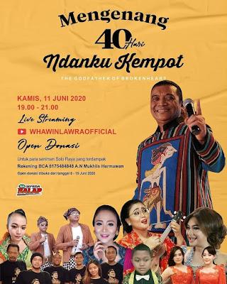 Konser 40 Hari Mengenang Didi Kempot
