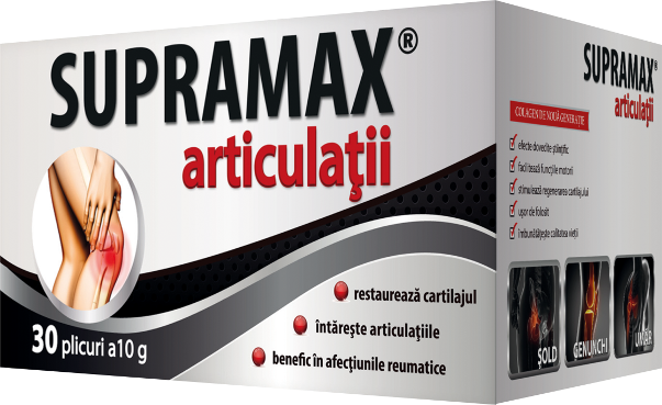 Informatii despre SUPRAMAX articulatii si SUPRAMAX articulatii DIRECT