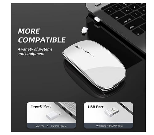 Halpilt Q23 Chargeable Portable Silent Wireless Mouse