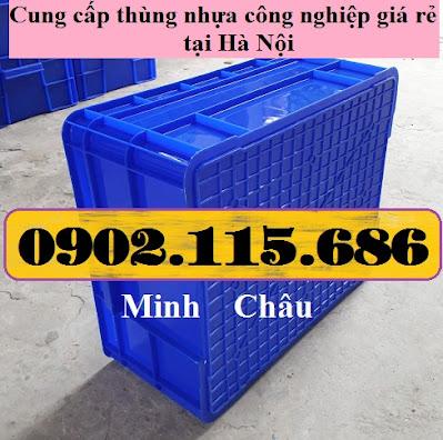 TT1 - Hop nhua co khi, thung nhua co khi, thung nhua cong nghiep, hop nhua cong nghiep, hộp nhựa trữ đông,