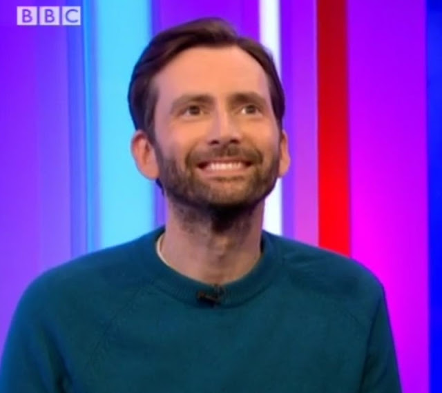David Tennant on The One Show 2/3/17