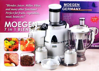 Blender Juicer 7 in 1 Moegen