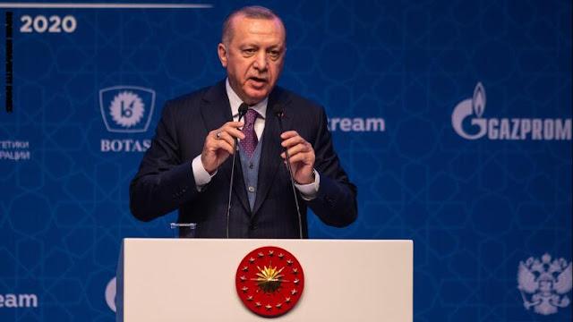 أردوغان: لم نرسل قوات عسكرية إلى ليبيا.. ووجودنا فيها عزز آمال السلام