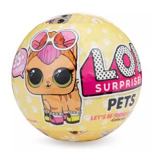 Mini Boneca Surpresa LOL Pets Série 3 7 Surpresas Candide
