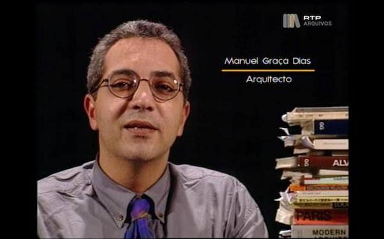 A alegria, irreverência e entusiasmo de Manuel Graça Dias (1953-2019) animaram a cultura portuguesa e trouxeram a arquitetura para as páginas dos jornais e ecrãs de televisão.