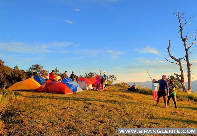 Mt. Ugo campsite
