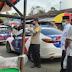 Kapolres Agam Bersama Tim Monitoring PSBB Agam, Tinjau Kepedulian Masyarakat di Pasar Lawang