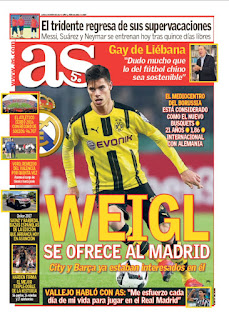 Real Madrid Interested In Borussia Dortmund's Julian Weigl