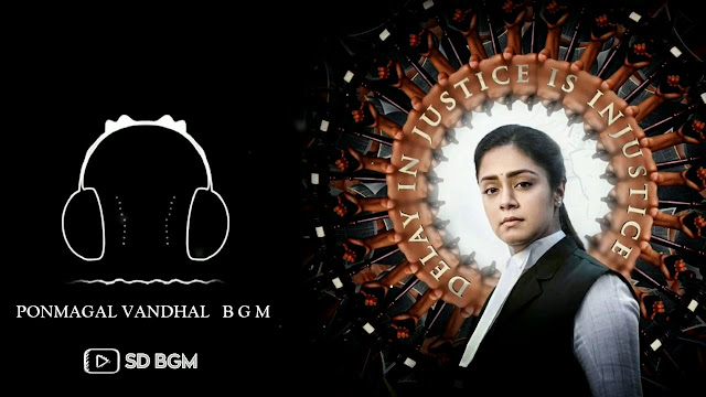 Ponmagal Vandhal | BGM - Ringtone | Background Music - Mp3 Download