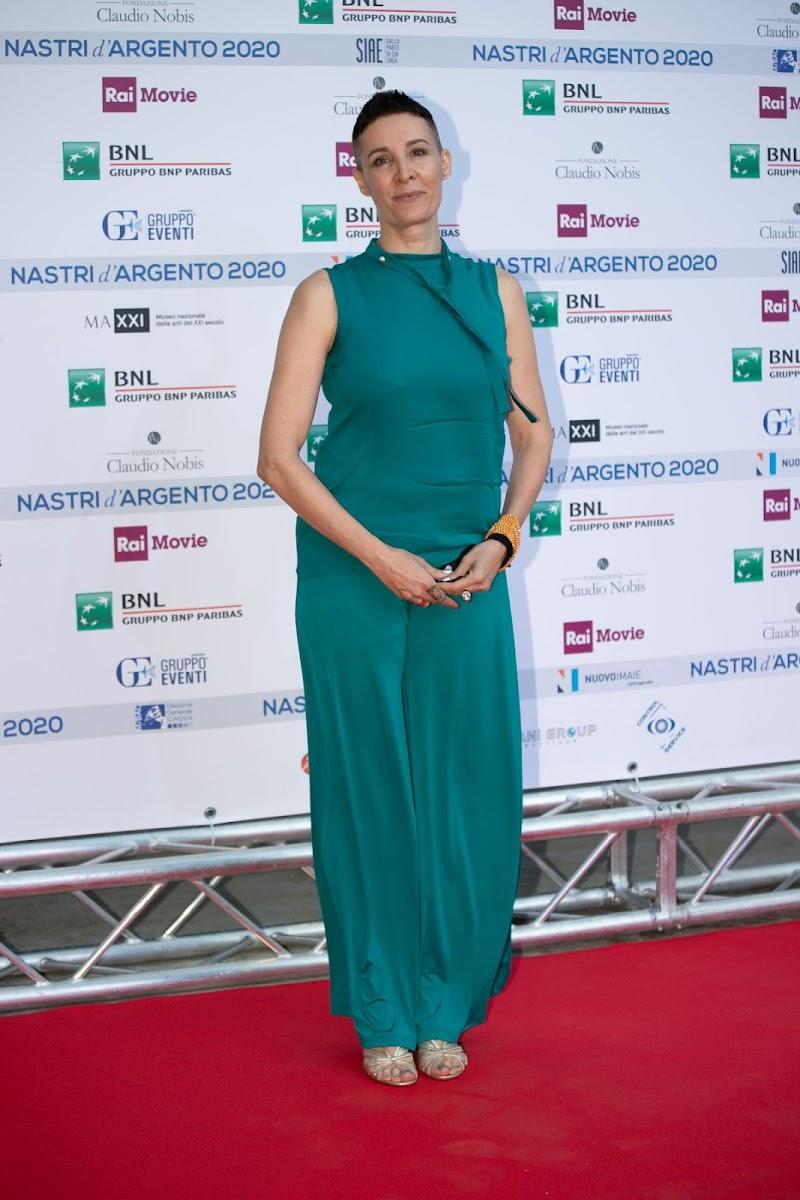 Claudia Catani Clicks at Nastri D'Argento Awards in Rome 6 Jul -2020