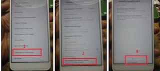 cara remove frp bypass Redmi S2 email verifikasi