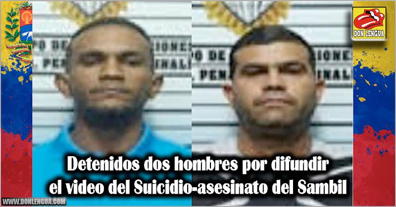 Detenidos dos hombres por difundir el video del Suicidio-asesinato del Sambil