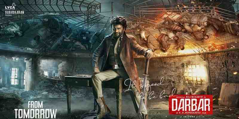 Darbar Movie Review Poster
