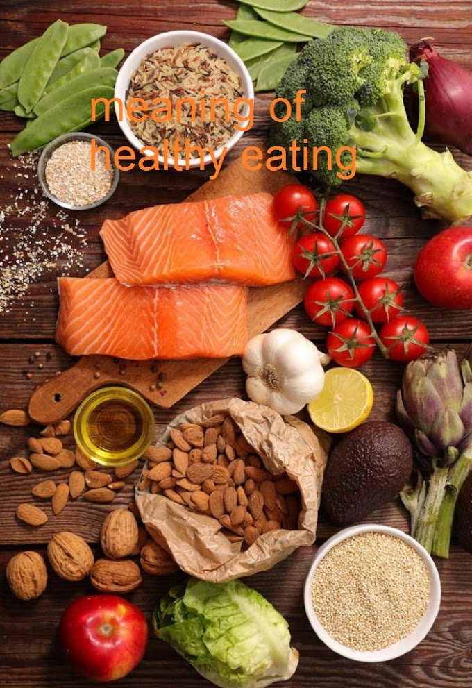 meaning of healthy eating