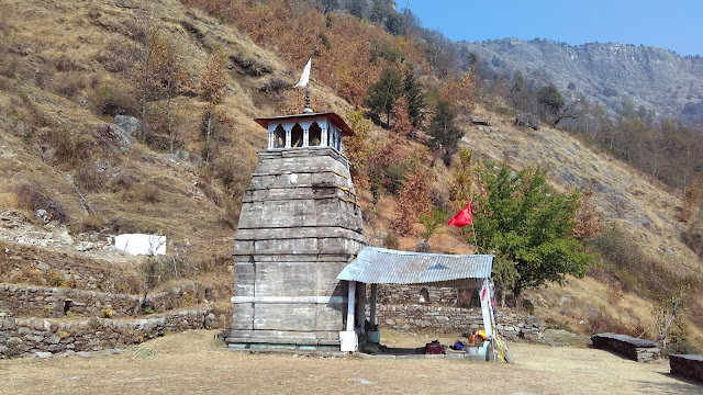 nagraj temple, saari village