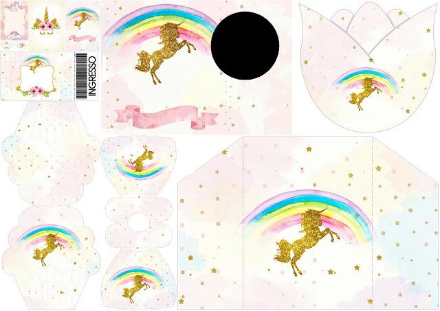 Fiesta de Unicornios: Invitaciones para Imprimir Gratis. | Ideas y ...