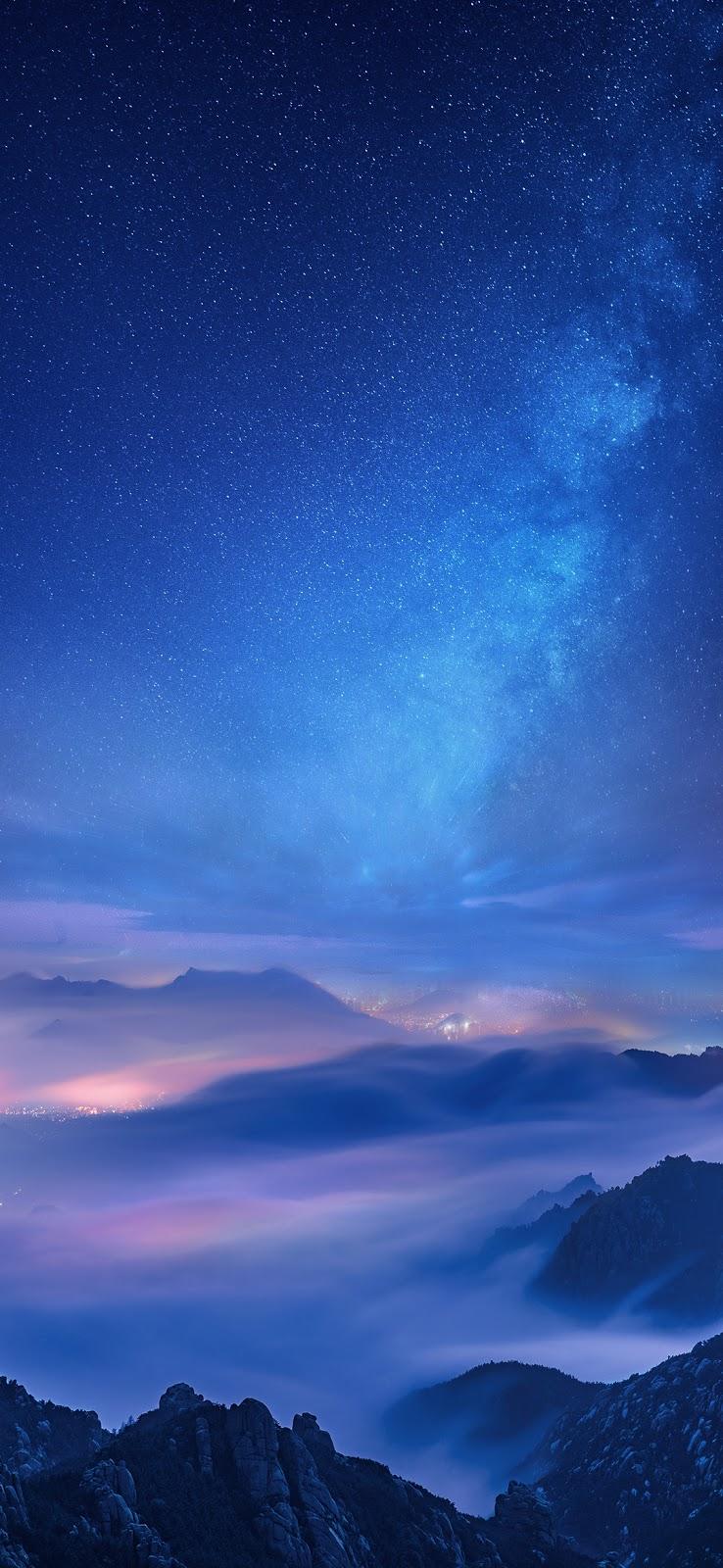 Milky night