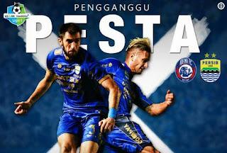 Persib Bandung Siap Ganggu Pesta Ultah Arema FC