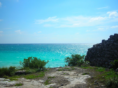 mar caribe desde tulum