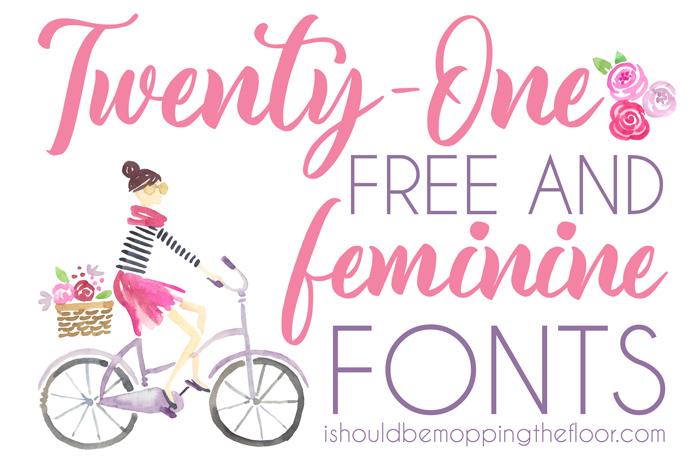 Feminine Fonts