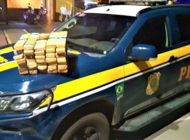 Itabuna - BA: Casal é preso após polícia encontrar quase 30 kg de maconha em mala de carro