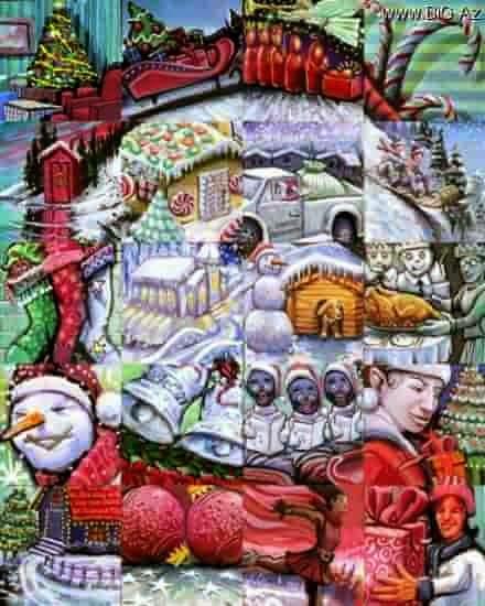картина Lewisа Lavoie снеговик