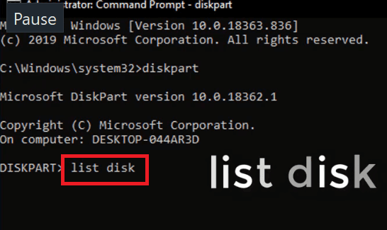 مشكلة you need to format the disk in drive before you can use it