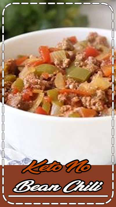 Keto Chili recipe that is whipped together in just 10 minutes and cooked all in the slow cooker. This is the easiest healthy weeknight dinner the whole family will love. #keto #ketodinner #ketodiet #ketorecipes #recipes #lowcarb #lowcarbdinner #lowcarbrecipes #slowcooker #slowcookerrecipes #crockpot #chili