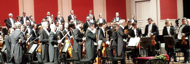 Vienna Philharmonic Orchestra on Stage at Teatro Colon