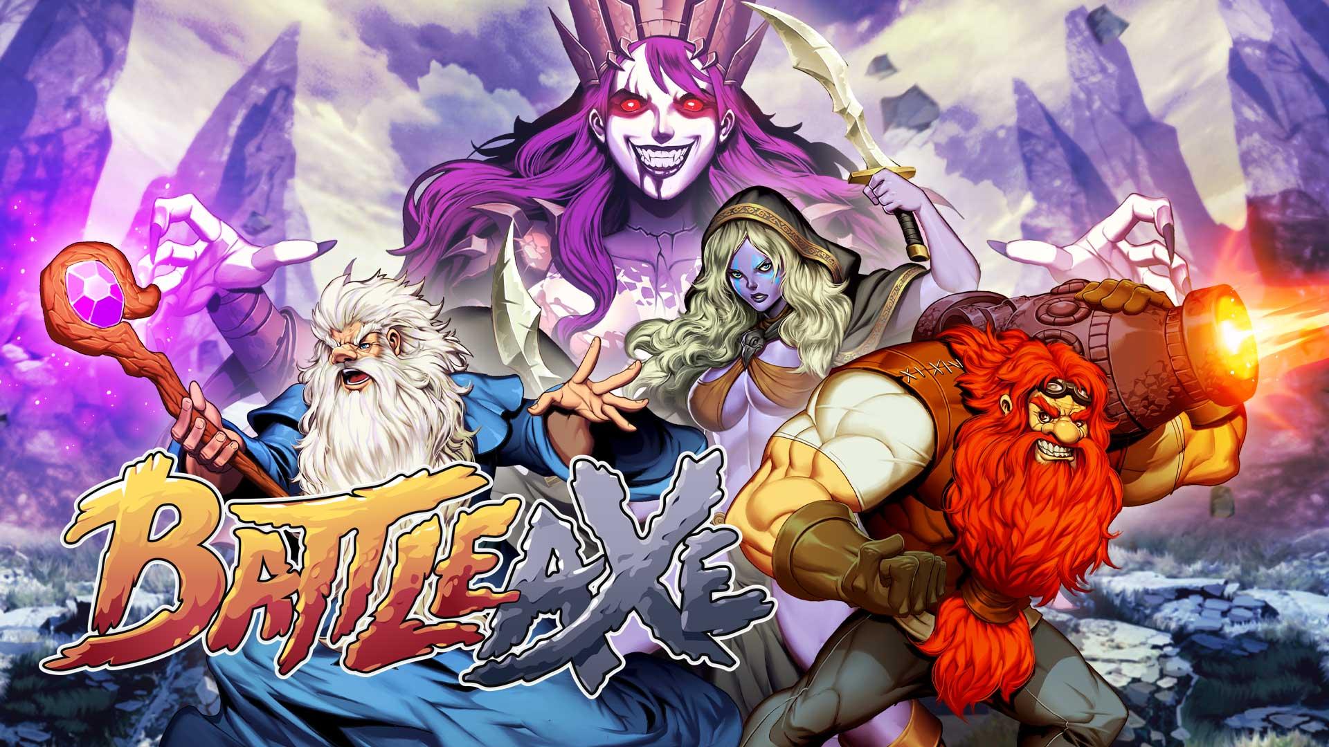 Análise: Battle Axe (Switch) ? combates frenéticos em uma aventura no estilo arcade